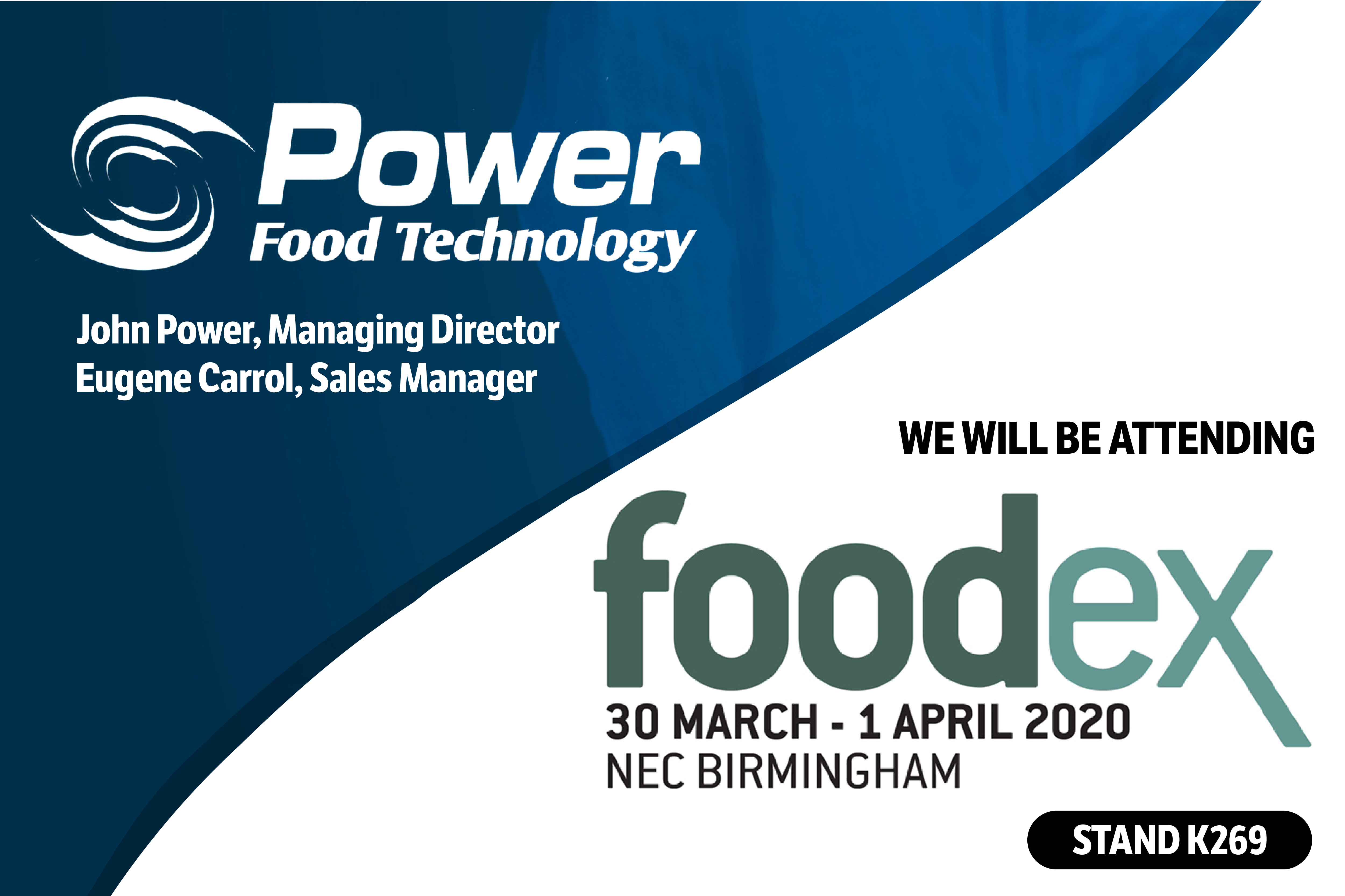 Leading Global Automation Company in the Food Industry is Coming to FoodEx 2020.